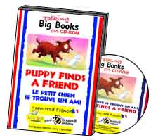 Puppy Finds a Friend - Big Book CD-ROM