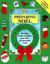 Preparons Noel - Christmas activity book