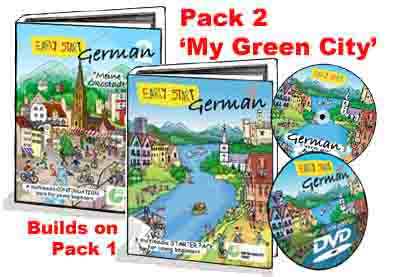 Early Start Primary German: Packs 1 and 2