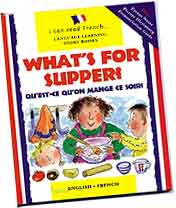 What's for Supper bilingual book