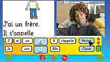 Clicker French screen