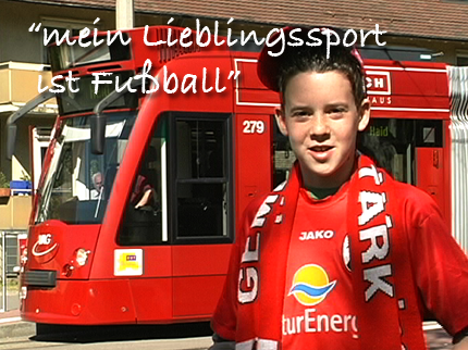 Primary German - I like football