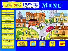Early Start French 1 e0CD: the innovative menu