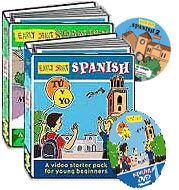 Early Start Primary Spanish materials