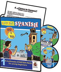 Early Start Spanish 1 for KS2 with DVD or VHS video